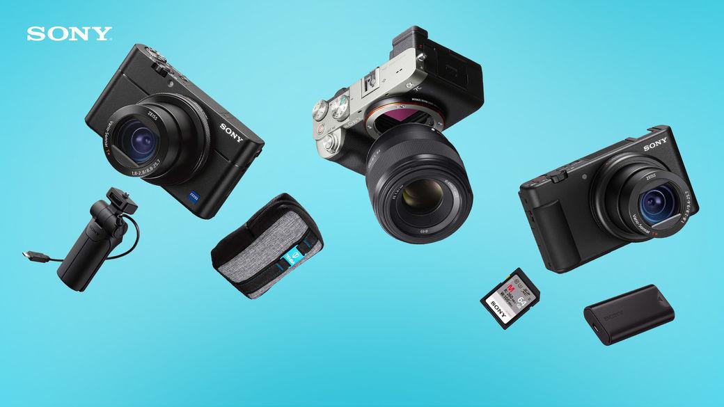 Sony A7C, RX 100 VA nebo ZV-1 s užitečnými dárky v hodnotě až 7 880 Kč