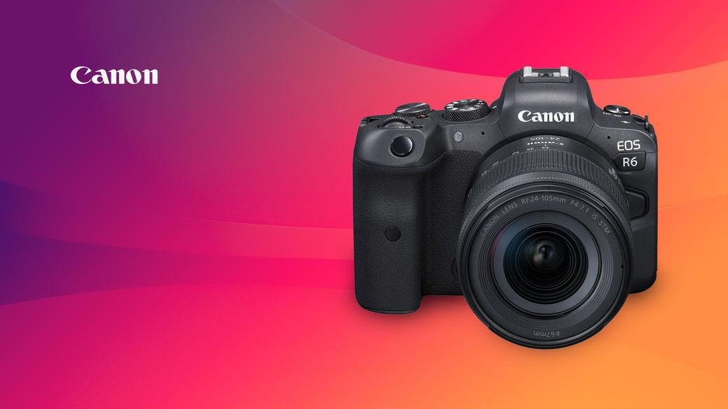 Canon R6 zlevňuje! Ušetřete až 10 500 Kč