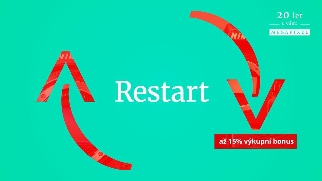 Restartujte svoji tvorbu s novou technikou VOL. 2! U každého výkupu zvýšíme až o 15 % výkupní cenu při nákupu nového foťáku či objektivu