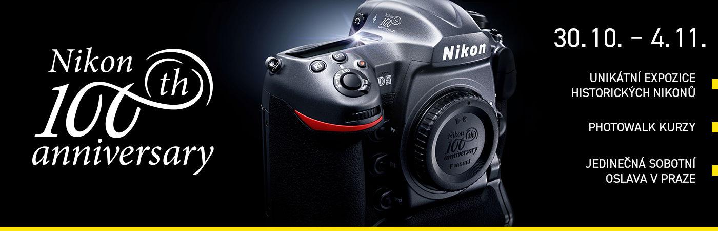 100 let Nikonu