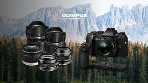 Získejte slevu na techniku Olympus nebo dokonce objektiv s gripem zdarma k foťáku E-M5 III