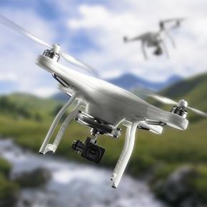 Létání s drony