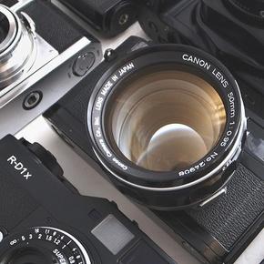 První spuštění fotoaparátu