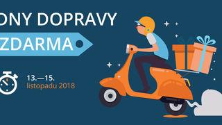 Dny dopravy zdarma 13. - 15. 11.