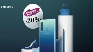 Ušetřete 20 % při nákupu telefonů Samsung v rámci akce Shopping Fever 2019