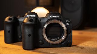 K bezzrcadlovkám Canon R5 adaptér DSLR objektivů zdarma