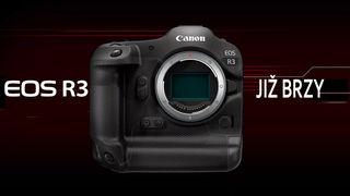 Canon představuje novou profi reportážní bezzrcadlovku EOS R3 a tři nové objektivy s pevným ohniskem