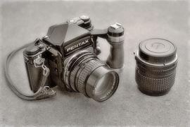 Historie fotografických značek - Pentax