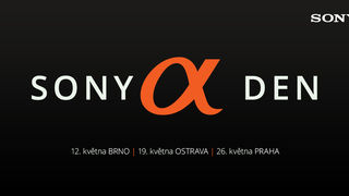 Sony Alpha den již tuto sobotu v Ostravě