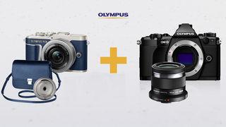 Rozdáváme objektivy a další dárky v hodnotě až 7 990 Kč k fotoaparátům Olympus