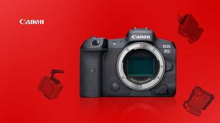 Canon EOS R5 za 99 990 Kč! Navíc příslušenství SmallRig zdarma a 20% bonus při nákupu na protiúčet