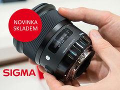 Očekáváná Sigma 24mm f/1,4 DG HSM je skladem