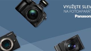 Panasonic Lumix nyní pořídíte ještě výhodněji