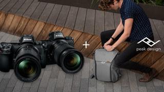 Rozdáváme batoh Peak Design ke všem fotoaparátům Nikon Z!