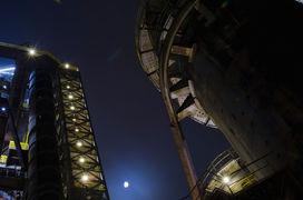 Mrazivé focení v noční Ostravě