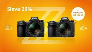 MEGAslevy 20% na Nikon Z6 a Z7 - ušetřete až 22 000 Kč - PRODLUŽUJEME