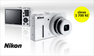 Nikon Coolpix P330 končí. V doprodeji stojí jen 5 990 Kč
