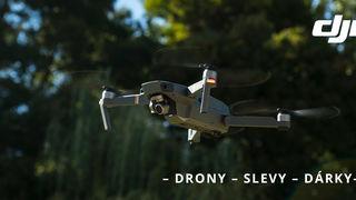Pořiďte si dron DJI se slevou a získejte hodnotné dárky