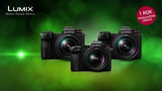 Ušetřete až 13 000 Kč při nákupu fotoaparátů a objektivu Panasonic