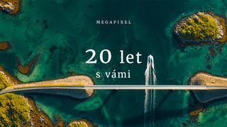 Megapixel slaví kulaté narozeniny! Už 20 let jsme tu pro vás