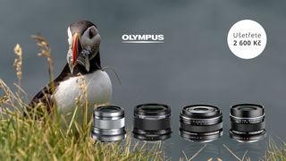 Pořiďte si pevný objektiv Olympus Premium se slevou 2 600 Kč
