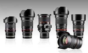 Samyang představil pět objektivů pro fullframe Sony NEX
