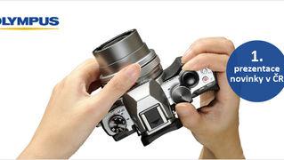 Olympus OM-D E-M10  - první prezentace nového fotoaparátu v ČR