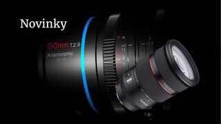 Představujeme dva nové objektivy. Samyang AF 24–70 mm f/2,8 FE pro Sony a Sirui Anamorphic 1,6× 50 mm T2,9