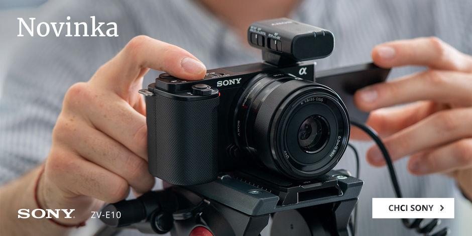 Přivítejte novinku Sony ZV-E10
