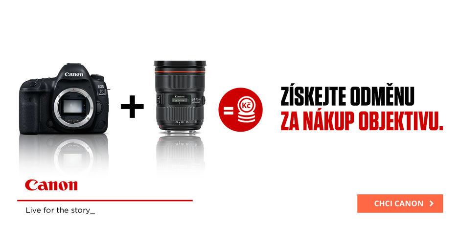 Canon Cashback 27 000 Kč