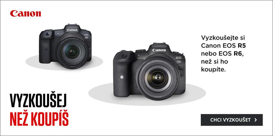 Půjčíme vám Canon R5 a R6 i s objektivem!