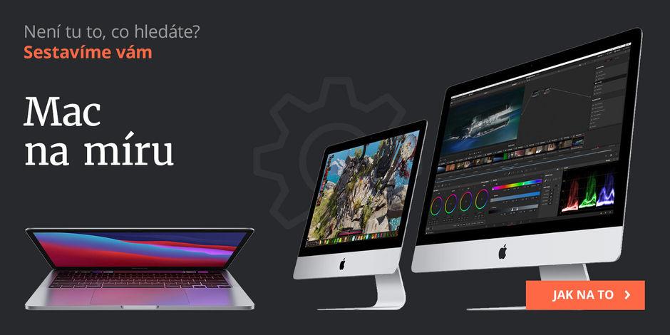Vlastní konfigurece Macbook