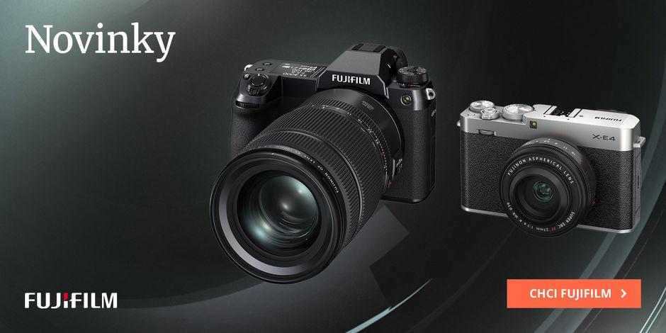 Novinky Fujifilm