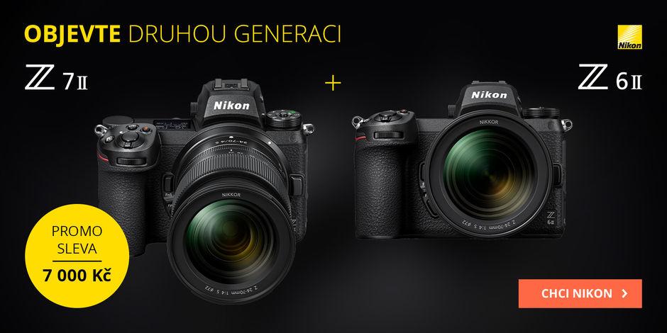 Poznejte novinky Nikon Z6 a Z7 II