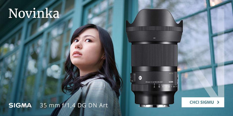 Poznejte nový objektiv Sigma 35 mm f/1,4 DN DG Art