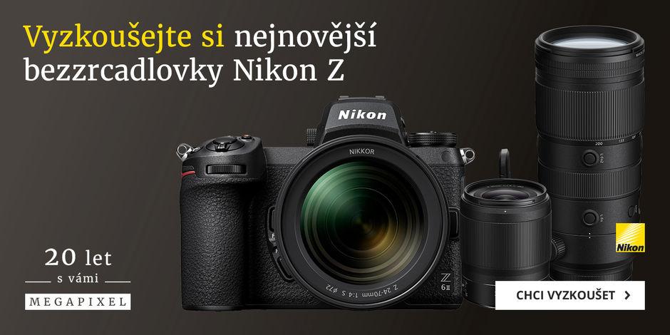 Vyzkoušejte si nejnovější techniku Nikon Z