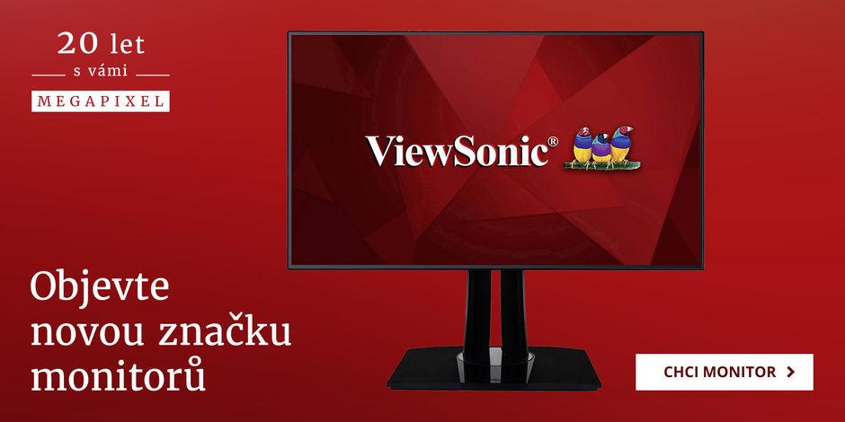 Představujeme nové profesionální monitory ViewSonic