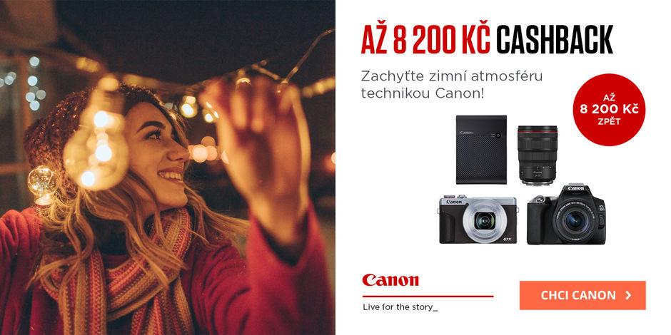 Objevte cashback Canon až 8 200 Kč
