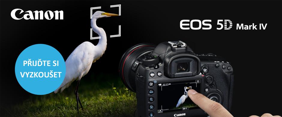 Oficiální prezentace novinky Canon EOS 5D Mark IV