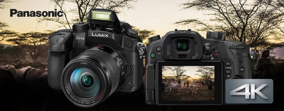 4K video a fotografování s Panasonic Lumix G