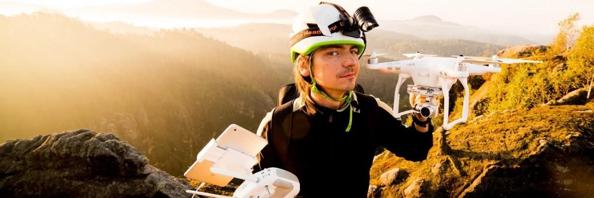 Létání s drony s Petrem Janem Juračkou