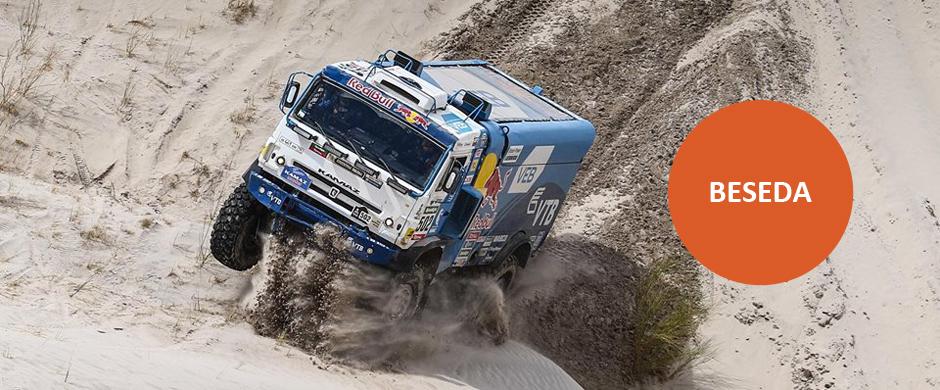 Beseda o focení Rally Dakar 2016