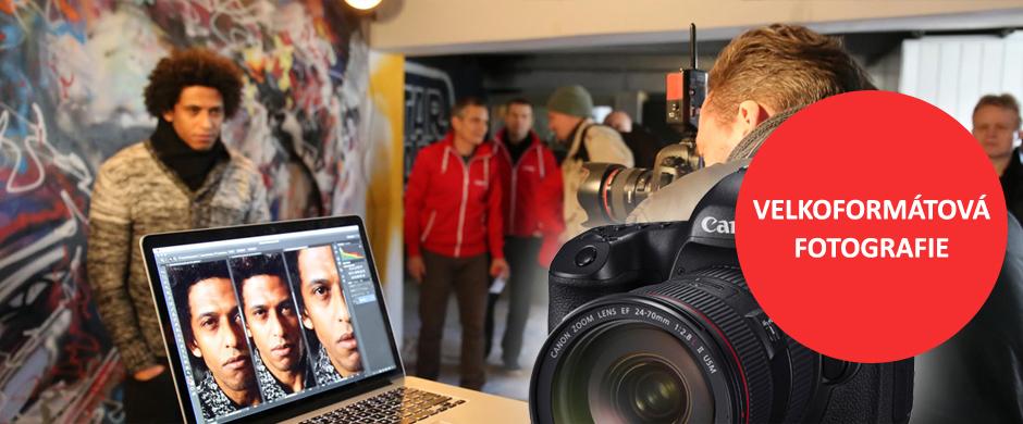 Workshop portrétní fotografie s Canon