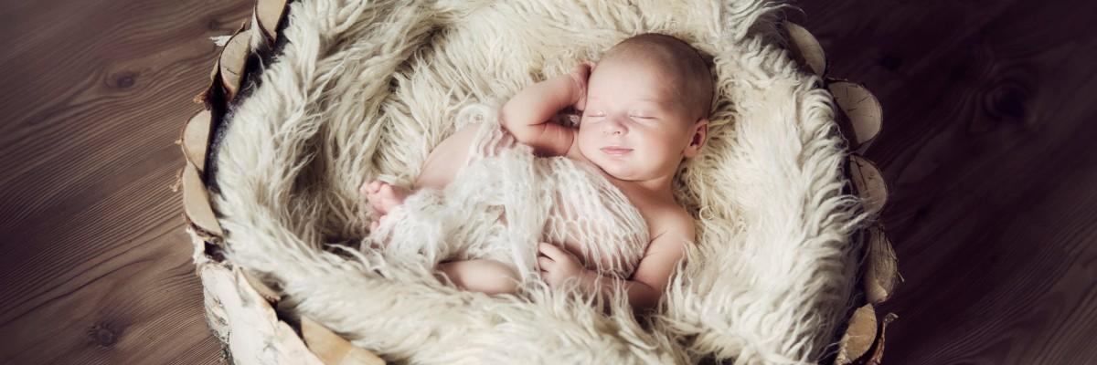 Jak vyfotit novorozeně