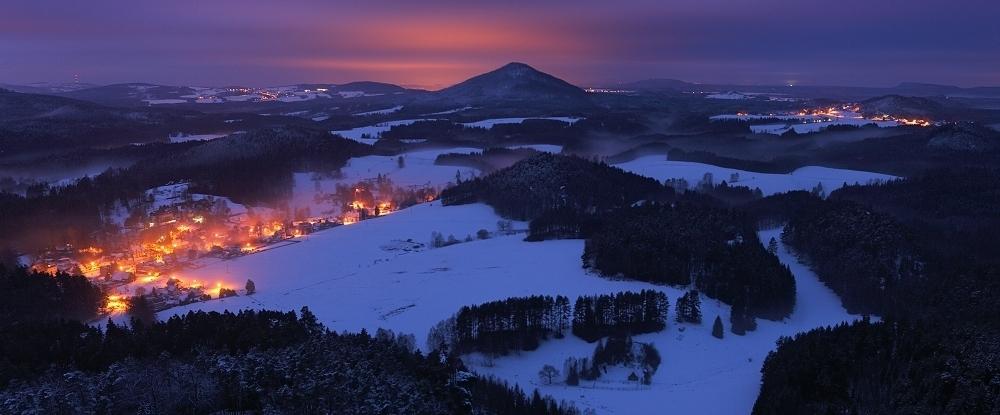 Zimní krajina Českého Švýcarska s Ondřejem Prosickým