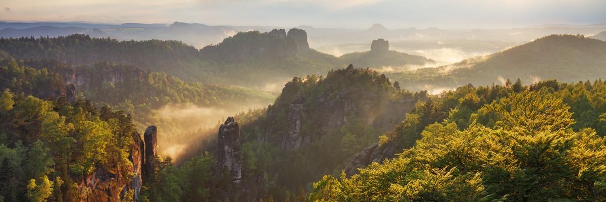 Fotografování v pohádkové krajině skal Saského Švýcarska