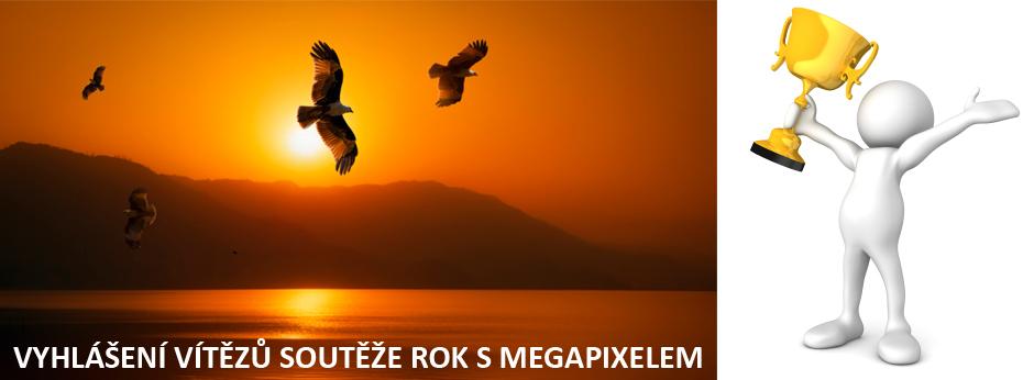 Vyhlášení vítězů celoroční soutěže ROK S MEGAPIXELEM