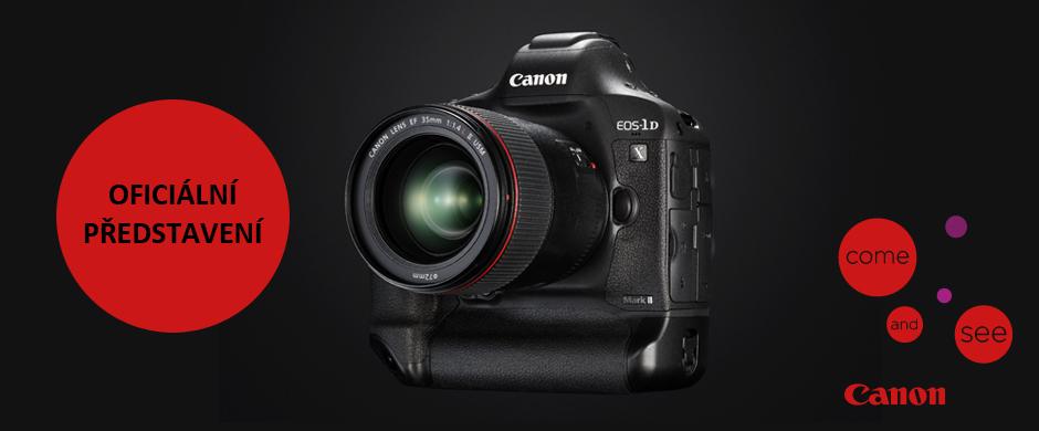 Oficiální prezentace novinky Canon EOS 1D X Mark II