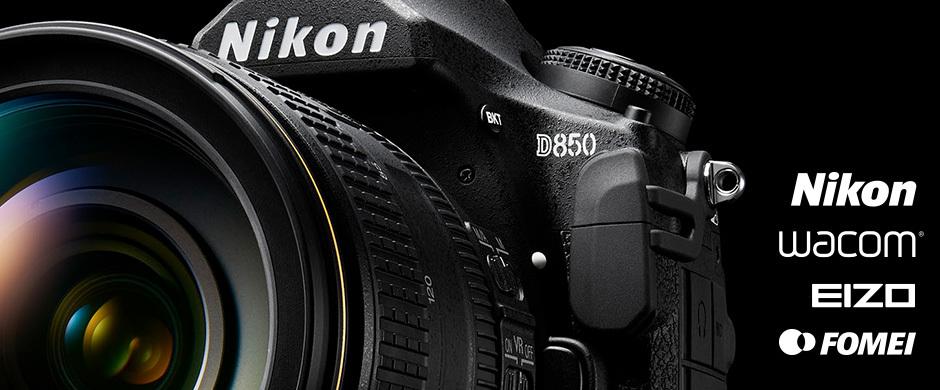 Portrétní workshop s Nikon D850 a následná úprava fotek s Eizo a Wacom