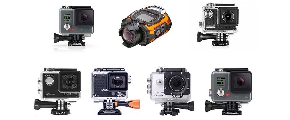 Předváděcí akce: akční kamery
